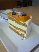 薑味白朱古力蛋糕
