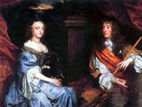 James II and Anne Hyde; original in National Protrait Gallery, UK