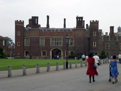 Hampton Court Palace,攝於二零零八年五月